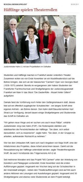 aus: welt.de, 06. September 2011