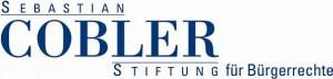 Förderer und Sponsor: Sebastian Cobler Stiftung für Bürgerrechte
