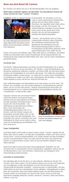aus: fnp.de, 30. November 2011
