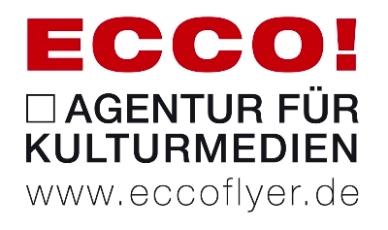 Förderer und Sponsor: Ecco! Agentur für Kulturmedien