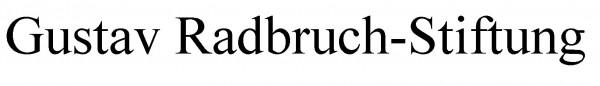 Förderer und Sponsor: Gustav Radbruch-Stiftung
